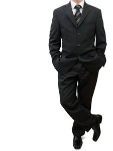 体型を考えたスーツ選びのポイントの画像