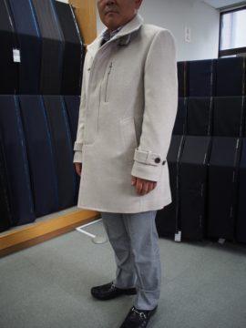 AGNONAのスリムコートの画像
