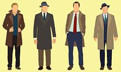 冬の必需品! ビジネスマン用コートの種類と選び方