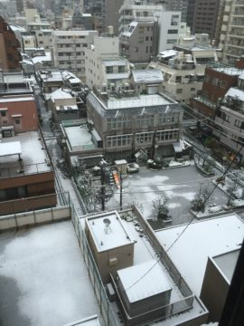 積雪の画像