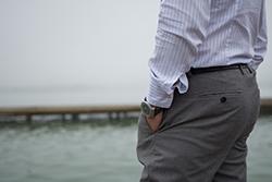スーツ用ズボン(スラックス)の種類と違いの画像
