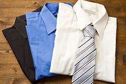 3種類のワイシャツ(カッターシャツ)