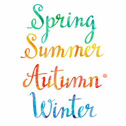 Spring, Summer, Autumn, Winter