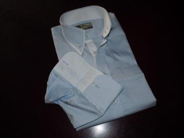 ヒューバロスのオーダーシャツの画像