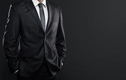 意外と知らないブラックスーツのマナーの画像