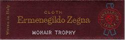 暑さに強い素材を採用した Mohair trophy