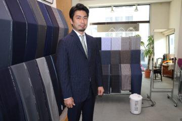 カノニコのスーツをご注文いただきました。の画像