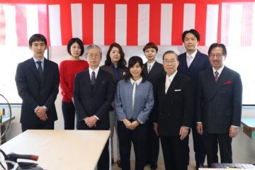東京洋服アカデミーの入学式の画像