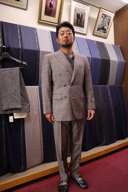 シングルダブル合体スーツ