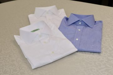 クールビズに最適なおしゃれなオーダーシャツの画像