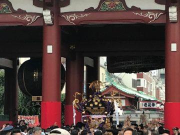 三社祭・浅草寺にての画像