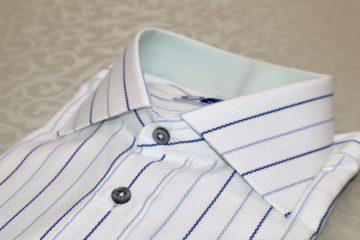 ヒューバロス社のおしゃれなオーダーシャツのご注文をいただきました。の画像