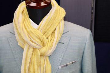 シルク100%でオーダージャケット|Fashion AT Men'sの画像