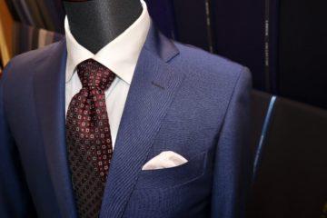 ランバン光沢感のあるオーダースーツ|Fashion AT Men'sの画像