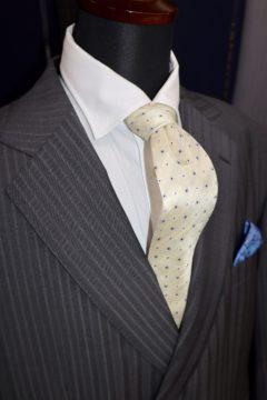 シルクブレンドのシャンでオーダースーツ|Fashion AT Men'sの画像