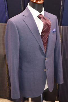 カノニコスモーキーブルーの大人ジャケット|Fashion AT Men'sの画像