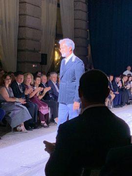 イタリアサルトリアファッションショー|Fashion AT Men'sの画像