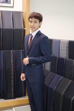 成人式・初めてのオーダースーツ|Fashion AT Men'sの画像