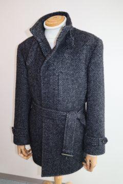 アニオナで立衿スリムコート|Fashion AT Men'sの画像