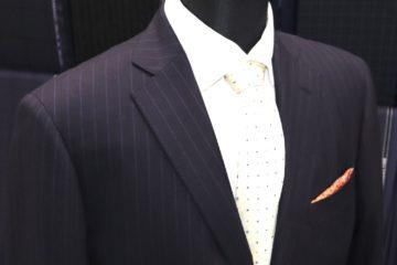 Super160'sカシミアブレンドでオーダースーツ Fashion AT Men'sの画像