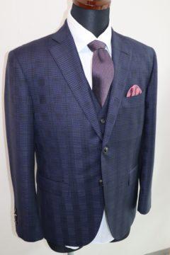 ドーメルで華やかな3ピースのオーダースーツ Fashion AT Men'sの画像
