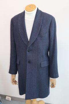コットンシルクでオーダーロングジャケット|Fashion AT Men'sの画像