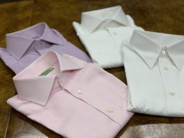 ヒューバロス社のオーダーシャツ|Fashion AT Men'sの画像