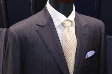 ゼニアオルタナティブストライプでスーツ|Fashion AT Men'sの画像