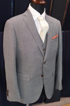 タリアのバーズアイでオーダースーツ Fashion AT Men'sの画像