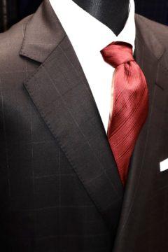 ラッシャーのウインドウペンでオーダースーツ|Fashion AT Men'sの画像
