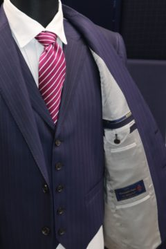 ゼニア15milmil15で3ピースオーダースーツ|Fashion AT Men'sの画像