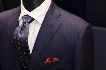ゼニア15milmil15でオーダースーツ|Fashion AT Men'sの画像