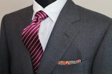 エレガントなランバンのオーダースーツ|Fashion AT Men'sの画像