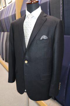 ダンヒル紺無地のオーダージャケット|Fashion AT Men'sの画像