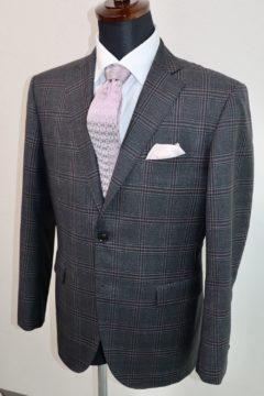 アリストン大きめチェックのジャケット|Fashion AT Men'sの画像