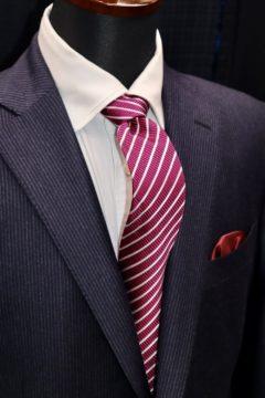 この季節ならではのフラノ調オーダースーツ|Fashion AT Men'sの画像