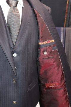 ジャケットとベストの裏地を変えて|Fashion AT Men'sの画像