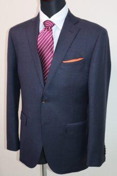 ゼニア紺のエレクタでオーダースーツ|Fashion AT Men'sの画像