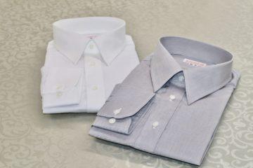 スナップダウンのシャツで衿先きちんと|Fashion AT Men'sの画像