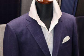 ゼニアクロスプレイでオーダージャケット|Fashion AT Men'sの画像