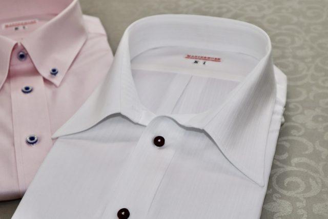 オーダーの半袖シャツ