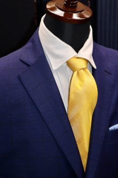 タリアのグレンチェックでオーダースーツ|Fashion AT Men'sの画像