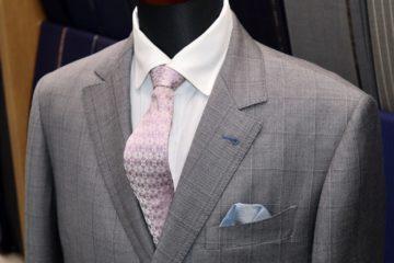 ゼニアライトグレーのオーダースーツ|Fashion AT Men'sの画像