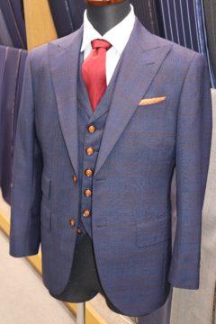 カノニコ3ピースオーダースーツ|Fashion AT Men'sの画像