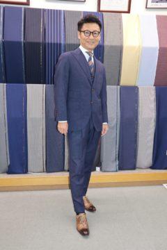 カノニコの3ピースオーダースーツ|Fashion AT Men'sの画像