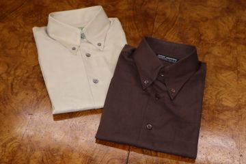 ヒューバロスのカジュアルオーダーシャツ|Fashion AT Men'sの画像