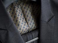 スーツの裏地
