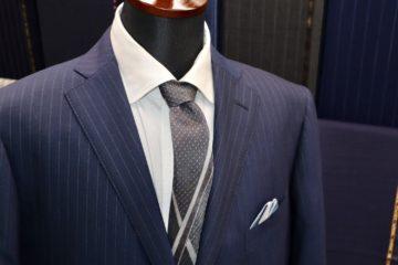 複雑ストライプのゼニアクールエフェクトで|Fashion AT Men'sの画像
