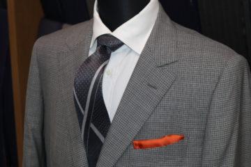 ランバンで和の雰囲気のオーダースーツ|Fashion AT Men'sの画像