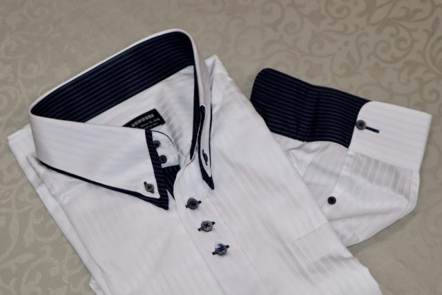ヒューバロスオーダーシャツ